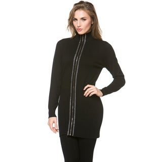 High Secret Women's Zip-Up Long Sleeve Cardigan