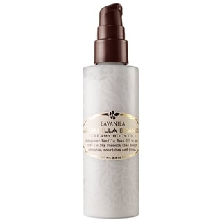 Lavanila All Natural Vanilla Bean Creamy 3.4-ounce Body Oil