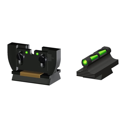 Hi-Viz Ruger Front/Rear Sight Set for 10/22 Rifle