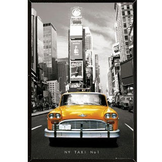New York Taxi Wall Plaque (24 x 36)