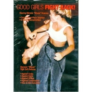 Good Girls Fight Back DVD Michele Krasnoo karate self defense women female