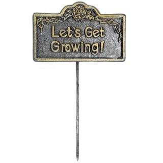 Premium Garden Marker Lets Get Growing