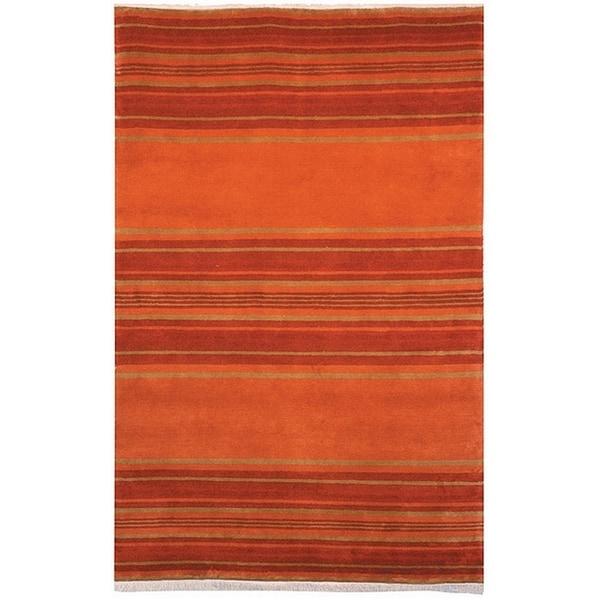 Safavieh Handmade Lexington Assorted Wool Rug (6' x 9') - 6' x 9'