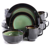 Bella Galleria Green 16-piece Dinnerware Set