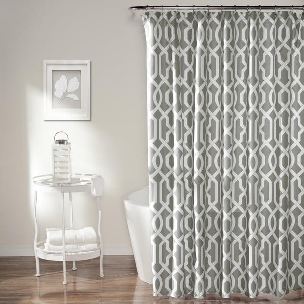 Lush Decor Edward Trellis Shower Curtain