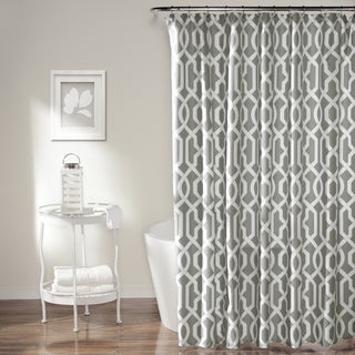 Lush Decor Edward Trellis Shower Curtain