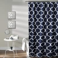 Gracewood Hollow Chidzero Geometric Shower Curtain