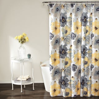 Lush Decor Leah Shower Curtain