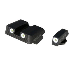 Hi-Viz Nitesight Glock 9mm Front and Rear Handgun Set