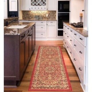 Sweet Home Medallion Design Mat Doormat Rug (1'8 x 4'11)