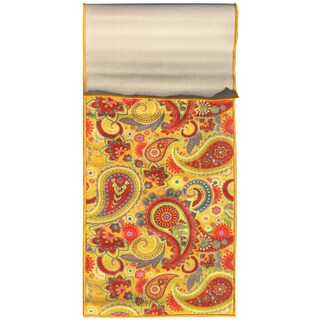 Sweet Home Paisley Design Mat Doormat Rug (1'8 x 4'11)