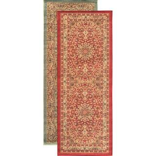 Sweet Home Medallion Design Mat Doormat Rug (2'3 x 6')