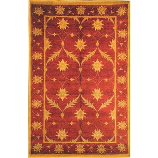 Sweet Home Brown Trellis Design Mat Doormat Rug (2'3 x 6')
