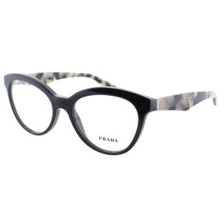 Prada Women's PR 11RV TFN1O1 Grey On Opal Grey 52mm Cat Eye Eyeglasses