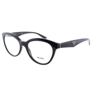 Prada Women's Black Plastic Cat Eye Eyeglasses