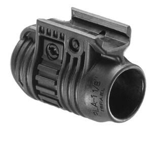 FAB Defense 1.125 inch Tactical Light/Laser Adapter Black