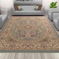 Sweet Home Stores Medallion Design Area Rug - 8'2 x 9'10