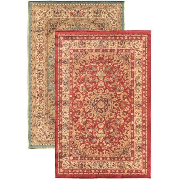 Sweet Home Red Medallion Design Mat Doormat Rug 3 3 X 4 7