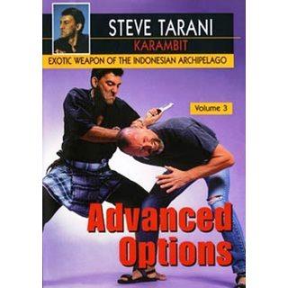 Indonesian Karambit blade weapons #3 Advanced Options DVD Steve Tarani knife
