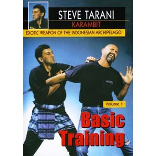 Indonesian Karambit Blade #1 Basic Training DVD Steve Tarani edged weapon