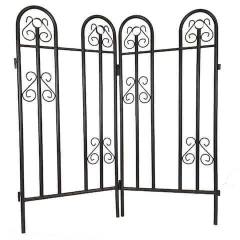 Premium Garden Fence (Set of 2)
