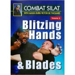 Indonesian Combat Pentjak Silat #6 Blitzing Hands Blade DVD Victor deThouars