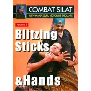 Indonesian Combat Pentjak Silat #3 Blitzing Sticks Hands DVD Victor deThouars