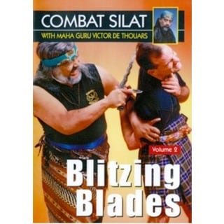 Indonesian Combat Pentjak Silat #2 Blitzing Blades DVD Victor deThouars sword