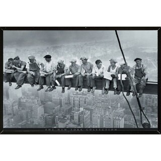 Men on a Grinder Wall Plaque (36 x 24)