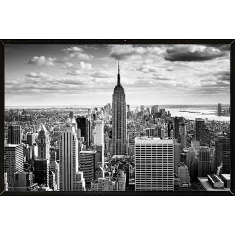 Empire State Wall Plaque (36 x 24)