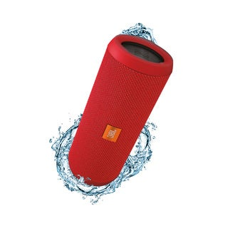JBL Flip 3 Red Splashproof Portable Bluetooth Speaker