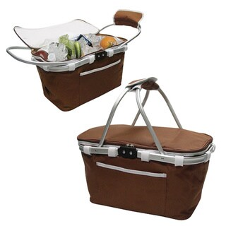 Goodhope Framed Insulated Cooler Picnic Basket