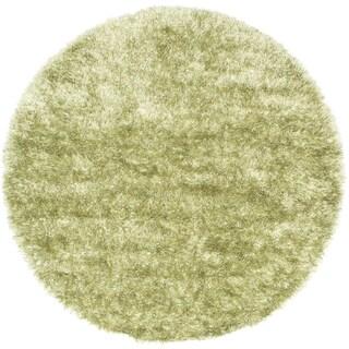 ecarpetgallery Neon Green Shag (6'6 x 6'6)