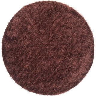 ecarpetgallery Neon Brown Shag (6'6 x 6'6)