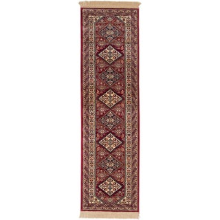 ecarpetgallery Shiravan Red Runner (2'3 x 7'10)