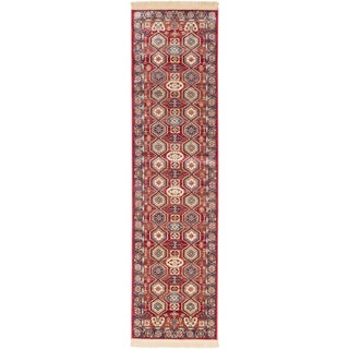 ecarpetgallery Shiravan Red Runner (2'6 x 9'10)