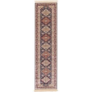 ecarpetgallery Shiravan Blue Runner (2'6 x 9'10)