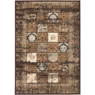ecarpetgallery Shahrzad Versailles Brown Rug (7'10 x 11'2)