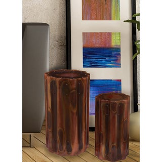 Copper Head Accent Table