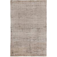 Hand-knotted Cleo Viscose Area Rug (4' x 6')
