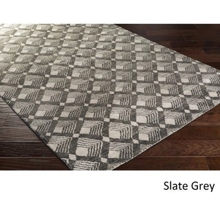 DwellStudio : Hand-knotted Fort Wayne Viscose Rug (8' x 10')