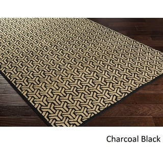 Hand-knotted Cochran Viscose Rug (6' x 9')