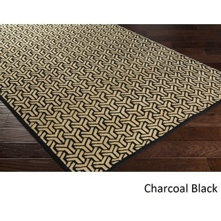 Hand-knotted Cochran Viscose Rug (8' x 10')