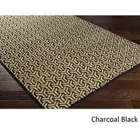 Hand-knotted Cochran Viscose Area Rug - 8' x 10'