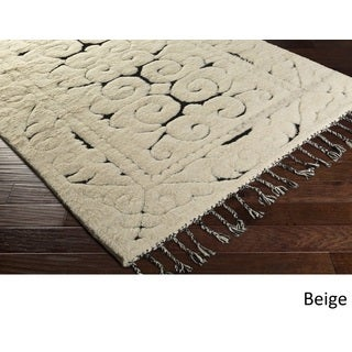 Hand-Knotted Cooke Wool Rug (9' x 13')
