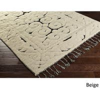 Hand-Knotted Cooke Wool Area Rug (9' x 13')