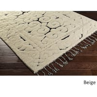 Hand-Knotted Cooke Wool Area Rug - 9' x 13'