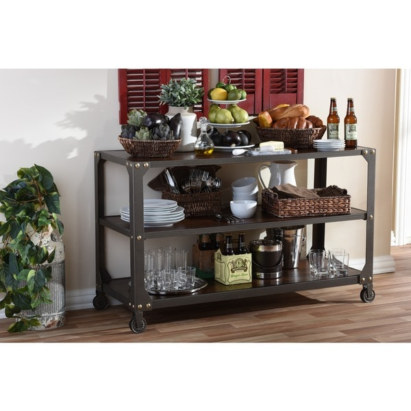 Bronze Industrial Coffee Table: Shop Baxton Studio Dreydon Rustic Industrial Antique