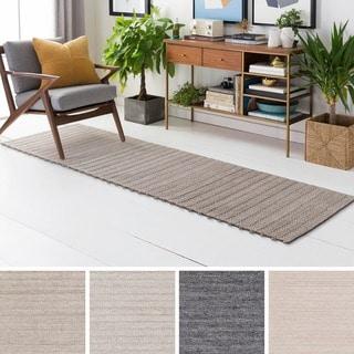 Hand-Woven Lexie Viscose/Wool Rug (2'6 x 8')