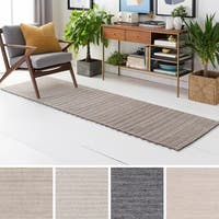 Hand-Woven Lexie Viscose/Wool Area Rug